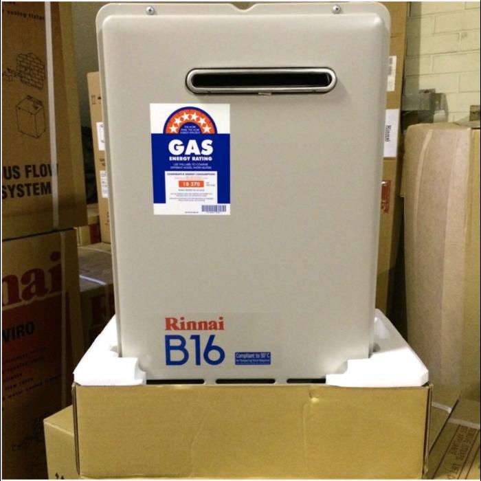 Rinnai B16 Builders Series Continuous Flow Hot Water