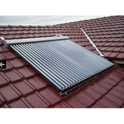 Apricus Evacuated Tube Solar Hot Water (Premium Stainless Steel Tank & Gas Boost)