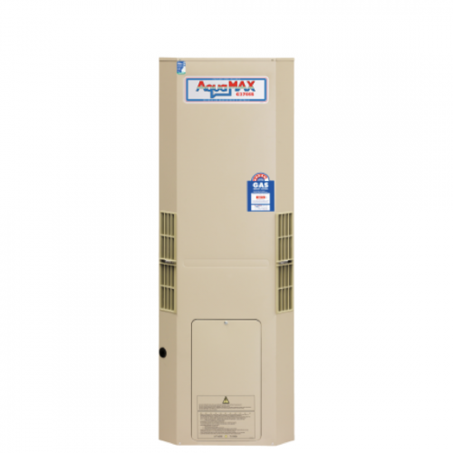 Aquamax 270 Gas Stainless Steel Water Heater with 12 Yr Warranty
