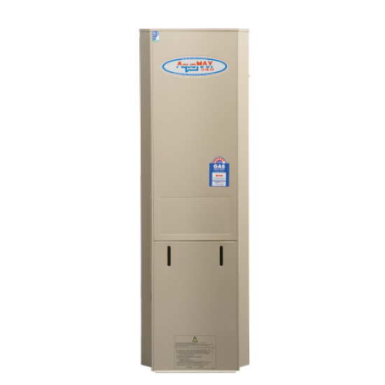 Aquamax 340 Gas Stainless Steel Water Heater with 12 Yr Warranty
