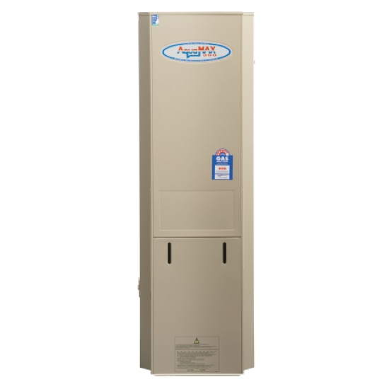 Aquamax 390 Gas Stainless Steel Water Heater with 12 Yr Warranty