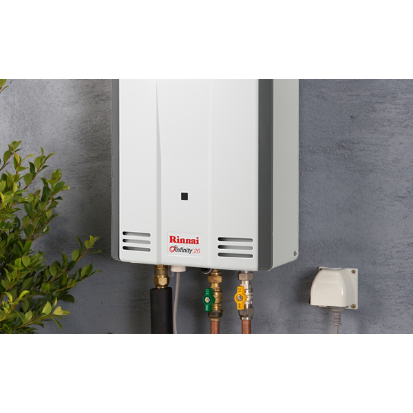 Rinnai Infinity K26 Continuous Flow Hot Water with 2 Controllers - EXTENDED 5 YEAR WARRANTY