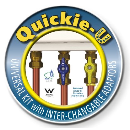 Quick Continuous Flow Valve Kit - Universal