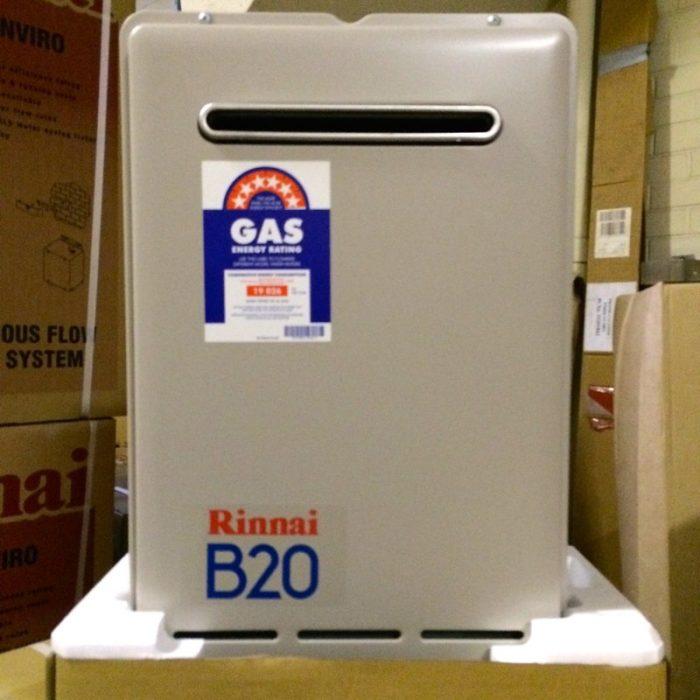 Rinnai B20 Builders Series Continuous Flow Hot Water
