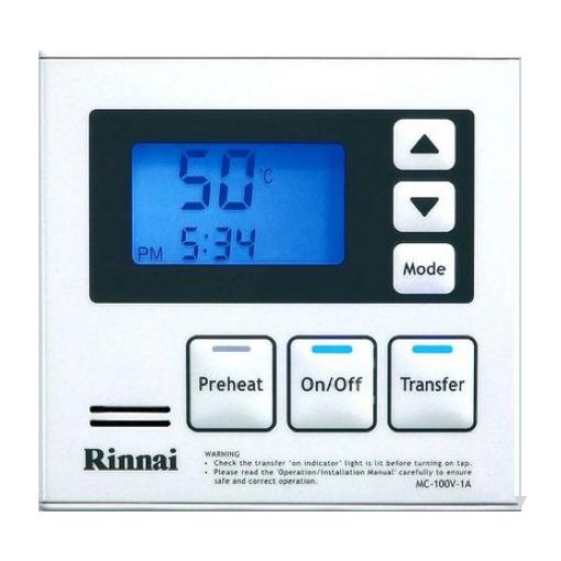 Rinnai Deluxe Kitchen Controller White