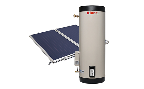Rinnai Prestige Flat Plate Solar Hot Water (Electric Boost & Stainless Ground Steel Tank)