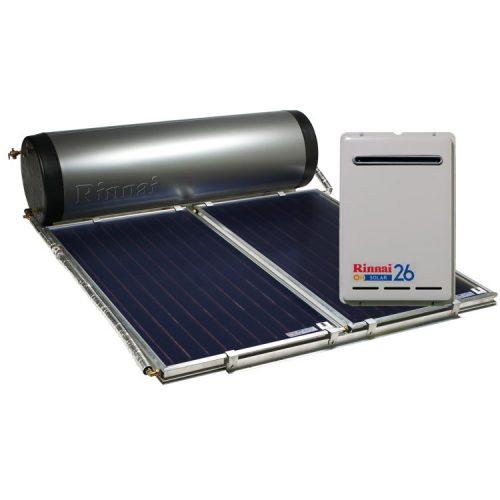 Rinnai Prestige Close-Coupled Solar Hot Water (Gas Boost)