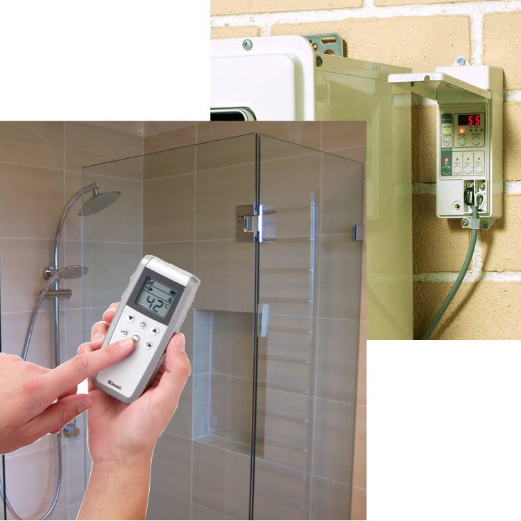 Rinnai Wireless Starter Kit with one Controller